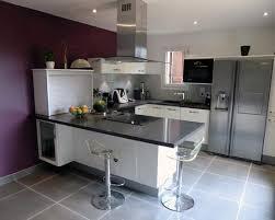 cuisine en u cuisine en u ouverte sur salon 611256 moderne lzzy co