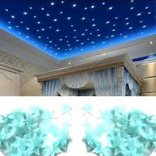 online buy wholesale glowing wall stickers from china glowing wall lovely 100pcs pack luminous stars wall stickers home glow in the dark stars for kids
