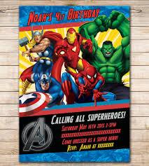 free avengers invitation templates disneyforever hd invitation