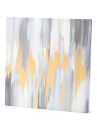 Tjmaxx Home Decor 24x24 Gray Abstract Wall Art With Gold Foil Wall Decor T J