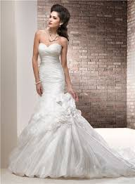 organza wedding dress mermaid organza wedding dress with flower crystals