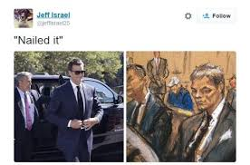 tom brady courtroom sketch inspires mirth online bbc news