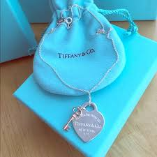 key heart necklace tiffany images 20 off tiffany co jewelry brand new tiffany co heart and jpg