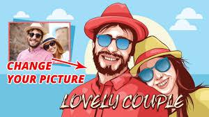 illustrator tutorial vectorize image vector portraits tutorials lovely couple illustrator tutorials