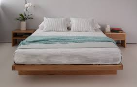 Modern Wooden Bed Frames Uk Kyoto Japanese Style Bed Low Beds Natural Bed Company