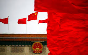 Image Chinese Flag The Illusion Of Chinese Power