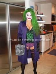 Joker Costume Halloween Coolest Homemade Jokeress Halloween Costume Halloween Costumes