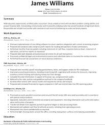accountant resume sle sle resume word format best accountant resume sle jobsxs