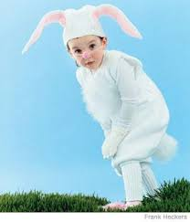 white rabbit costume parenting