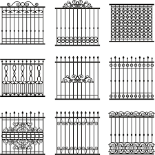 ornamental iron designs gate pics for wrought fence with fences
