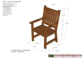 outdoor chair plans delightful wood patio chair plans 4 plans to
