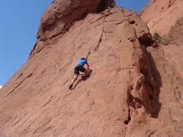 Rock Climbing Garden Of The Gods Us Climbing Picture Of Ascent Mountain School Colorado