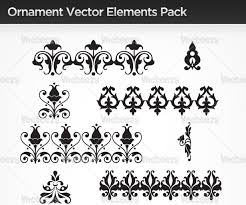 conquer designing with vector ornaments