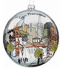 kurt adler c4106 san francisco glass cityscape