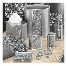wondrous design bling bathroom sets new 5pc diamante white ceramic