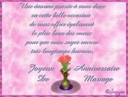 11 ans de mariage 43 ans de mariage