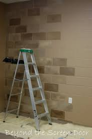 basement walls painting concrete block diy ideas pinterest