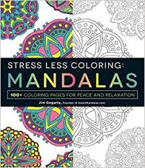 stress less coloring mandalas 100 coloring pages for peace and