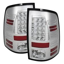 2014 ram 1500 tail lights 5077523 chrome led tail lights
