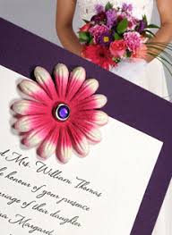 how to make invitations with paper flowers