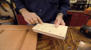 kitchen cabinet door hardware jig how to use a drilling jig for cabinet handles and knobs