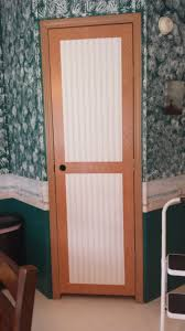 Mobile Home Interior Walls Exterior Retractable Screen Doors With Black Color And Cream