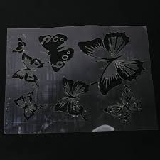 wall painting butterfly stencil pattern amazon co uk diy u0026 tools