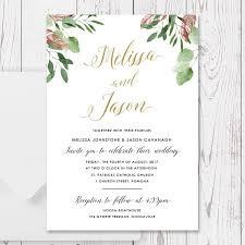 Catholic Wedding Invitations Gold And Marsala Red Floral Wedding Invitations Printed On Quality