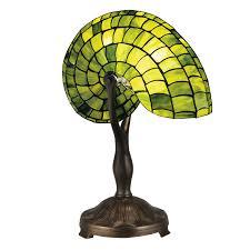dale tiffany nautilus snail table lamp hayneedle
