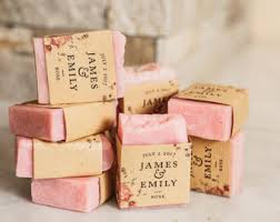 soap bridal shower favors wedding favor soap etsy