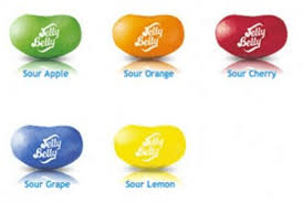 sour jelly belly mix unwrapped jelly beans nostalgic
