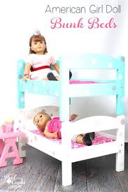 Doll Bunk Beds Plans Bunk Bed For Selv Me