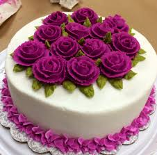 come learn how to decorate cakes with buttercream side designs and