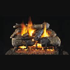 real fyre charred american oak gas log set 24 in chao 24