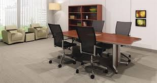 Small Meeting Table 8 U0027 Transaction Conference Table Tac8tb By Mayline Office
