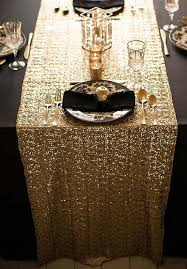 gold lace table runner 10 tablecloths and table runners we love