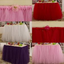 Table Skirts 2017 2015 Pastoral Wedding Tutu Table Skirt 91 5 Cm 80 Cm Pink