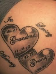 25 beautiful grandparents tattoo ideas on pinterest tattoo for