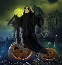 amazon com 25 inch animated skeleton ghost halloween decoration