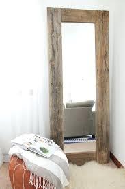 Framing Bathroom Mirrors Diy - rustic round bathroom mirror round rustic wood framed mirrors