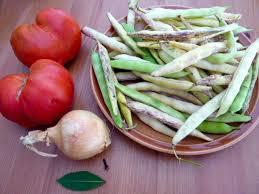 comment cuisiner des haricots blancs recette haricots cocos de paimpol aoc frais à la tomate