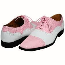 roberto chillini 6545 pink white mens dress shoes