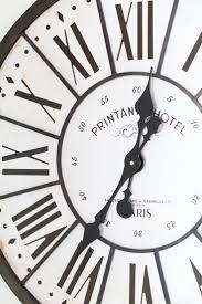 Grose Wohnzimmer Uhren Die Besten 25 Oversized Clocks Ideen Auf Pinterest Paletten Uhr