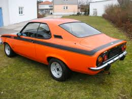 opel orange 1972 opel manta 1 9 gt e german cars for sale blog