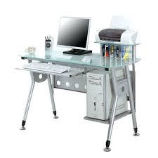 tablette coulissante bureau bureau avec tablette coulissante bureau informatique avec plateau