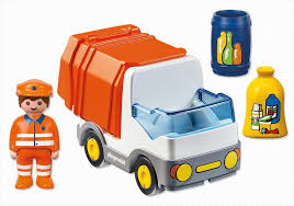 cartoon car back 1 2 3 recycling truck 6774 playmobil usa