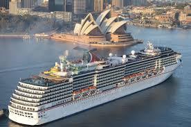 cruises to sydney australia carnival cruise line australia detland