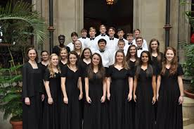 advanced ensemble sings at biltmore house westminster schools of