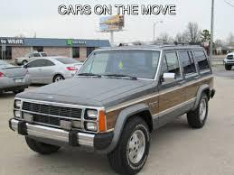 1989 jeep wagoneer limited 1988 jeep grand wagoneer 6 cylinders for sale in tulsa oklahoma