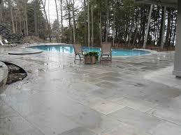 Backyard Concrete Ideas Stone Pool Deck Home U0026 Gardens Geek